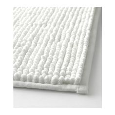 TOFTBO Bathroom mat IKEA Made of microfiber; ultra soft, absorbent and dries quickly.  ($12.99)