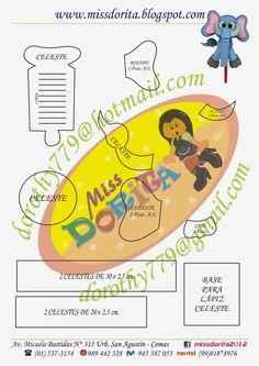 Miss Dorita: Molde del video del Lapiz del Elefantito Jungle Animals, Punch Art, Paper Piecing, Stencils, Diy And Crafts, Elephant, Templates, Comics, Books