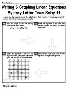 Let me start by saying that relays are not an original idea..maybe you have been doing them for years…but they are new to me, (and i love them) so I figured I'd share in case anyone else has never tried relays with their class. How they work: Take a problem that requires multiple steps to …
