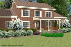 landscaping front of ranch house - Bing Images