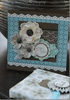 STAMPIN UP UK INDEPENDENT DEMONSTRATOR MONICA GALE: Stampin'Up! Everything Eleanor