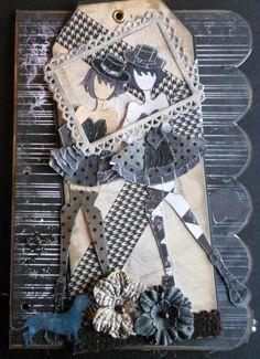 "Lani's Prima Dolls ""Framed"". Prima Paperdoll Club at Simple Pleasures"
