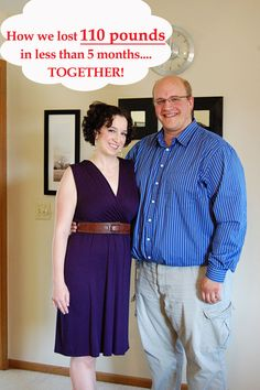 Losing weight as a couple - 110 pounds in 5 months!