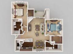 3d floor plan descriptions 3d