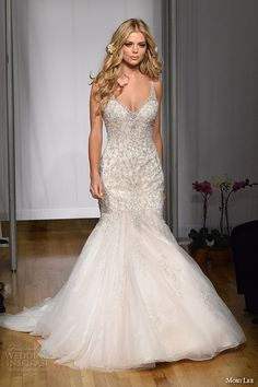 New York Bridal Fashion Week October 2015 Part 5 — Watters, Privato by Mon Cheri, Mori Lee, Allure Bridals, Carol Hannah | Wedding Inspirasi