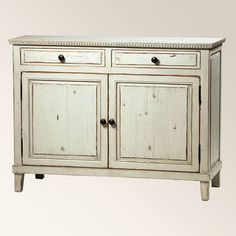 Shop for Dovetail Furniture Soren Sideboard Grey, and other Dining Room Sideboard Cabinets at Goods Home Furnishings in North Carolina. Dovetail Furniture, Hickory Furniture, Painted Sideboard, Antique Sideboard, Media Furniture, Dining Room Furniture, Carolina Furniture, Dining Room Sideboard, Woodworking Projects