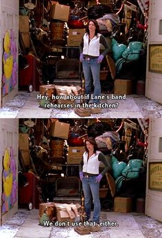 "Gilmore Girls ""Hey how about if Lane's band rehearses in the kitchen. Gilmore Girls Funny, Watch Gilmore Girls, Gilmore Girls Quotes, Lorelai Gilmore, Best Tv Shows, Favorite Tv Shows, Team Logan, Glimore Girls, Tv Quotes"