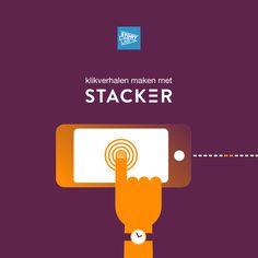 Stacker is een tool voor het maken van 'tap-essays': sequentiële visuele verhalen die je op eigen tempo kan ontdekken via een minimale interface. #Cardification