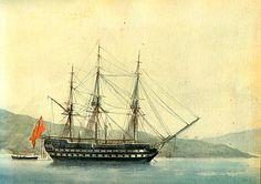 fragata britanica 60 cañones Fame