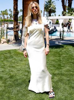 Pernille Teisbaek look coachella 2016