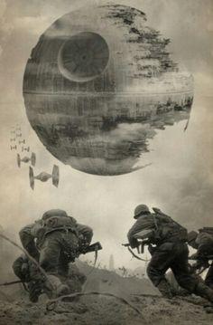 Star Wars Death Star Tie Fighter