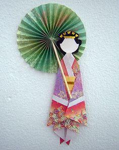 Washi Ningyo: Muñecas Japonesas de Papel                                                                                                                                                                                 Más