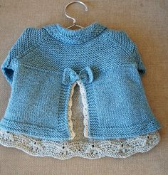 Ravelry: Charlee Baby Girl Jacket/Coat pattern by Lotta Arnlund. 3 months to 3 years Baby Knitting Patterns, Coat Patterns, Knitting For Kids, Baby Patterns, Skirt Patterns, Blouse Patterns, Clothes Patterns, Sewing Patterns, Crochet Baby Jacket