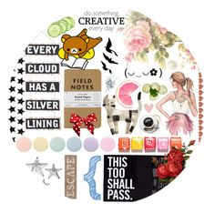 """Lets All Be Random"" by spellrox ❤ liked on Polyvore featuring art"