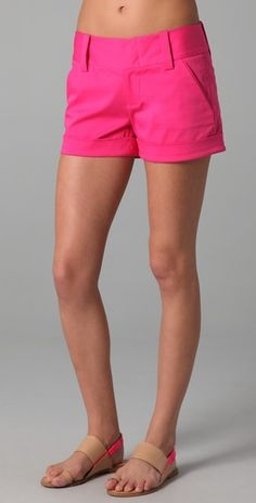 Alice and Olivia- Cady Shorts - Love but need to lay off the cookies for a while