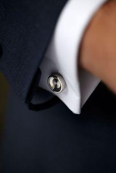 Real Men Do Wear Cufflinks. Choose your Side. #MensStyle
