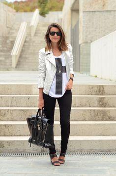 Alexandra. Jeans de SUITEBLANCO.  (Imagen vía LovelyPepa).