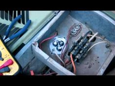 How to fix your AC - Fan kicks on but Compressor Not Working - Replacing run start capacitor - YouTube