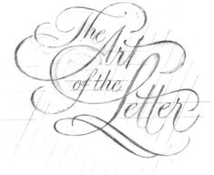 Doyald Young The Art of the Letter