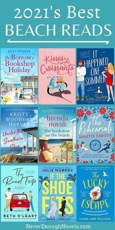 Best Books To Read, Good Books, Book Club Books, Book Lists, New Books, Beach Reading, Summer Reading Lists, Best Beach Reads, Good Romance Books