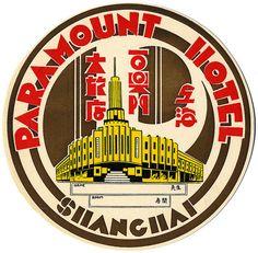 Paramount Hotel, Shanghai