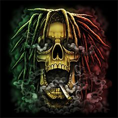 RASTA SKULL is a quality iron-on transfer from Art Brands. Art Brands has a variety of heat transfer processes and sizes.