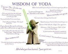 from Yoda we learn.