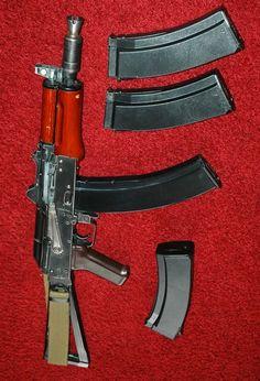 AKS-74U. 5.45 x 39 mm