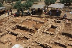 Major damages in the archaeological site of Zominthos
