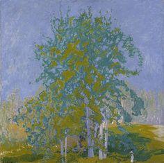 Landscape Art, Landscape Paintings, Tree Paintings, Gelli Arts, Canadian Art, Elements Of Art, Vincent Van Gogh, Tree Art, Claude Monet