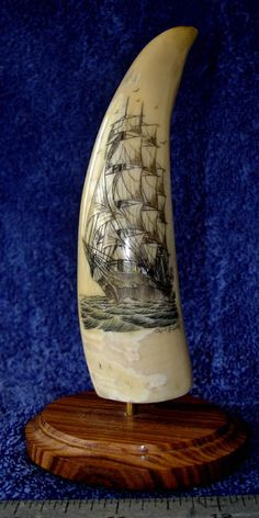 Captain Budd's Scrimshaw Pieces