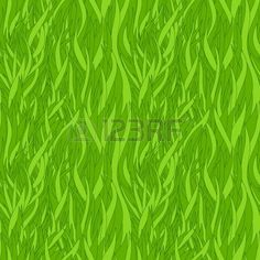 Grass texture. Seamless pattern  Stock Vector