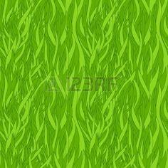 Grass texture. Seamless pattern  Stock Vector
