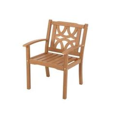 Martha Stewart Living Spring Lake 100% Recyclable Wood Alternative Patio Lounge Chair $79