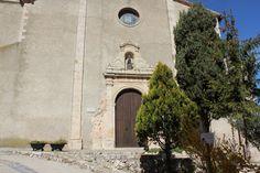 Ermita de Sant Pau. L'Ermita de Sant Pau est un belvédère qui vous donne une vue surprenante sur la vallée du Priorat. Espagne La Figuera