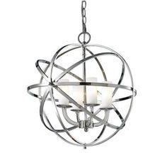 Filament Design Gala 4-Light Chrome Pendant-CLI-JB-032581 - The Home Depot