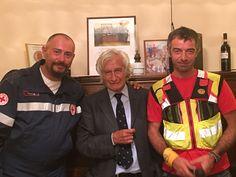 Il primo contributo del Rotary Club LAquila al sisma del Centro Italia