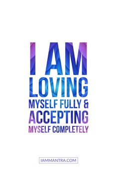 Self Love & Self Acceptance ? Positive Affirmations Quotes, Self Love Affirmations, Affirmation Quotes, Positive Quotes, Healing Quotes, Spiritual Quotes, Radical Acceptance, Self Love Quotes, Inspirational Quotes