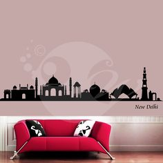With this Indian Heritage Wall Sticker Decal you can decorate your walls in one of the most modern and elegant ways