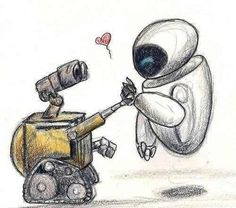 Wall -E como mi perrito