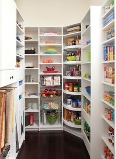 the ultimate pantry layout design custom shelving layout design and shelving - Kitchen Pantry Shelving Ideas
