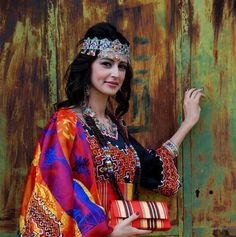 Amazigh girl from kabylia
