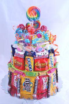 Candy Cake - Over the Rainbow. $35.00, via Etsy.