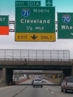 Cleveland, Ohio---Oh, how I wish I was back home right now.  I miss my Dad and Sister so very much!
