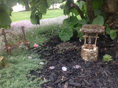 Our fairy garden...
