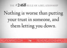 it happens u move on
