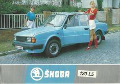 Skoda 120 brochure 1987, classy! Advertising Ads, Vintage Advertisements, Retro Cars, Vintage Cars, Car Brochure, Volkswagen Group, Trucks And Girls, Car Brands, Old Cars