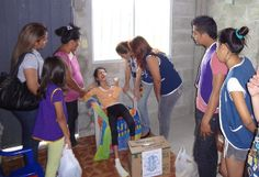 Leo Club Santa Lucía (Ecuador) | Leos Delivered Food and Grooming Products Staples to Physically Handicapped Girl in  Severely Poor Health.