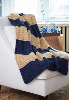 Easy Breezy Knit Afghan in Caron Simply Soft - Downloadable PDF. Discover more patterns by Caron at LoveKnitting. The world