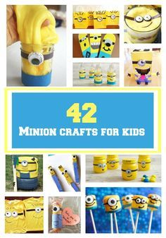 Making Minions Crafts will be loads of fun for your kids. After all, who doesn't love the Minions? These Despicable Me characters are some of our favorites. You can even use these hysterical subterranean characters at your next birthday party.